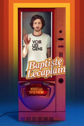 affiche spectacle Baptiste Lecaplain