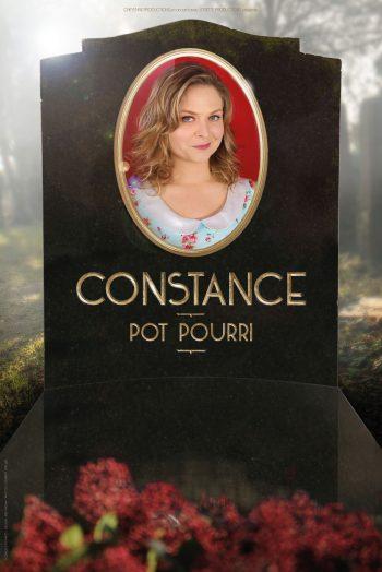 affiche spectacle Constance