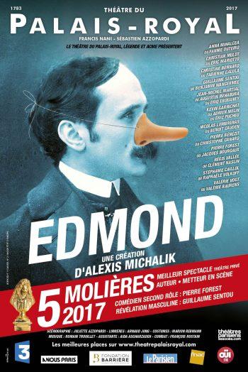 Affiche spectacle Edmond
