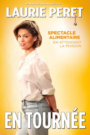 Affiche spectacle Laurie Peret