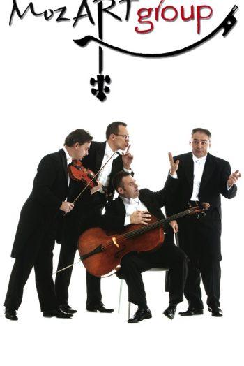 Affiche concert Mozart Groupe
