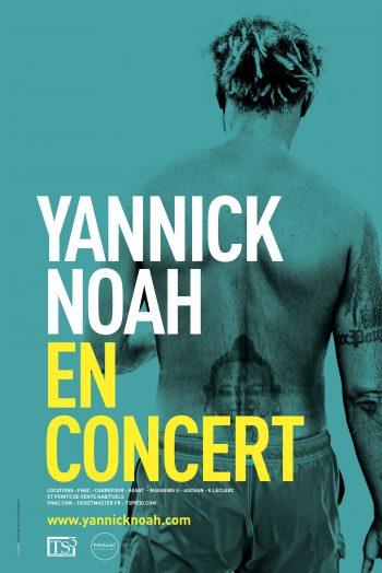 Affiche concert Yannick Noah