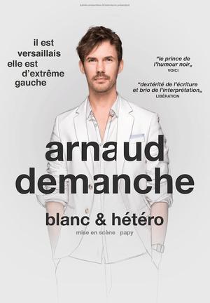 Arnaud Demanche affiche spectacle