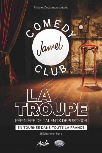 jamel comedy club troupe spectacle humour théâtre du femina bordeaux