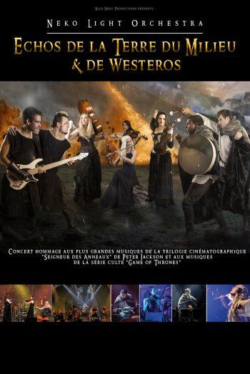 Echos de la Terre du Milieu & de Westeros Neko light orchestra théâtre femina